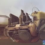 gumroad - modo科幻风格的飞行车辆建模和材质教程