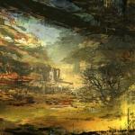 俄罗斯场景概念艺术家WADIM KASHIN磅礴大气的场景原画作品 145P